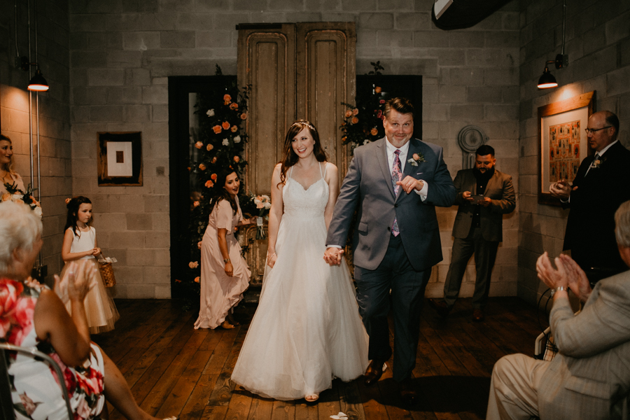 Stephanie And Kent Bailey Tampa Florida Romantic Wedding At Coppertail Brewery in Ybor Florist Fire BHLDN Mis En Place Ibex String Quartet Let Them Eat Cake -51.jpg
