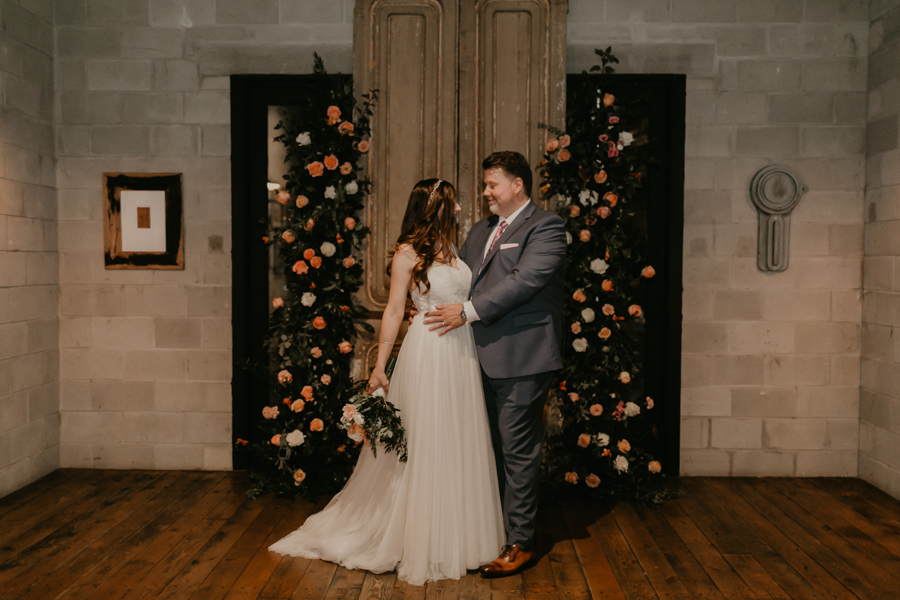 Stephanie And Kent Bailey Tampa Florida Romantic Wedding At Coppertail Brewery in Ybor Florist Fire BHLDN Mis En Place Ibex String Quartet Let Them Eat Cake -60.jpg