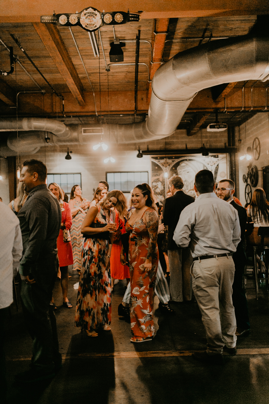 Stephanie And Kent Bailey Tampa Florida Romantic Wedding At Coppertail Brewery in Ybor Florist Fire BHLDN Mis En Place Ibex String Quartet Let Them Eat Cake -90.jpg