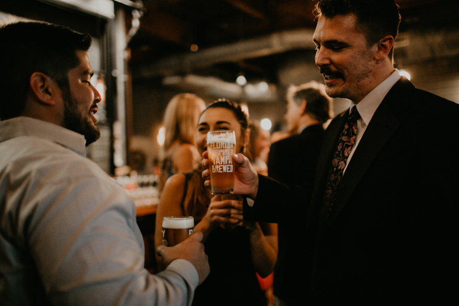 Stephanie And Kent Bailey Tampa Florida Romantic Wedding At Coppertail Brewery in Ybor Florist Fire BHLDN Mis En Place Ibex String Quartet Let Them Eat Cake -93.jpg