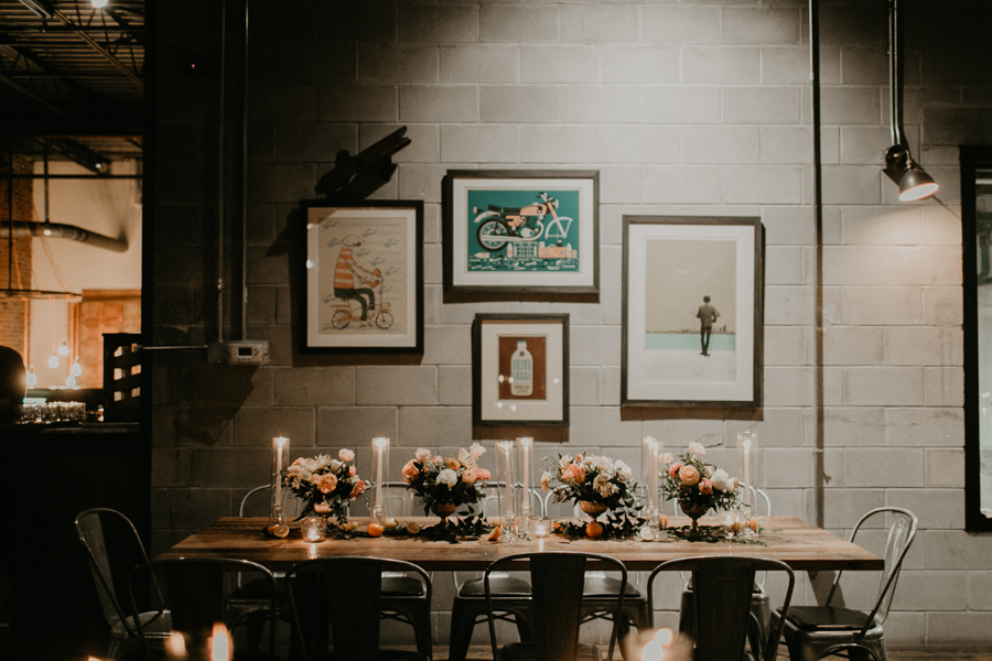 Stephanie And Kent Bailey Tampa Florida Romantic Wedding At Coppertail Brewery in Ybor Florist Fire BHLDN Mis En Place Ibex String Quartet Let Them Eat Cake -98.jpg