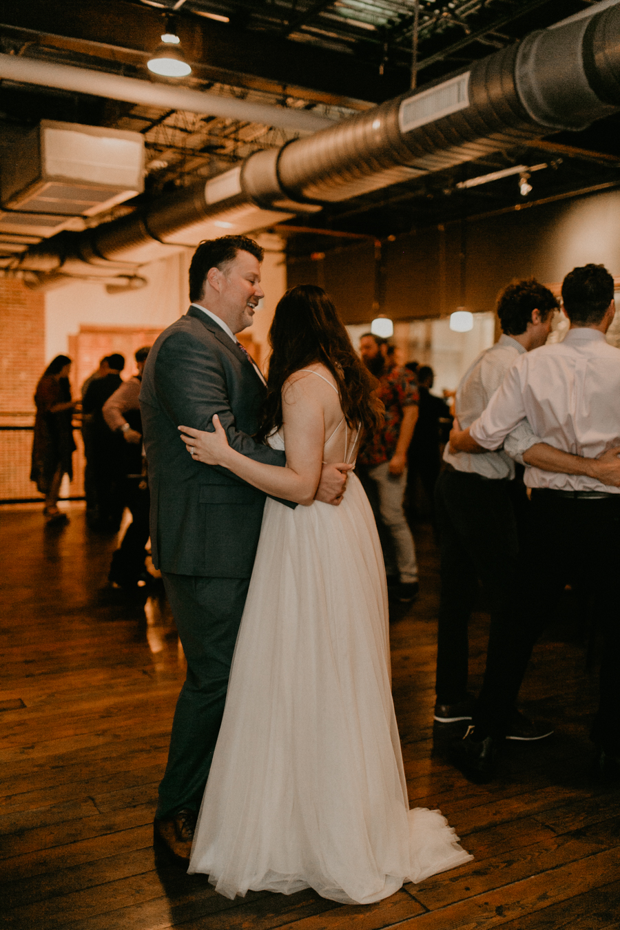 Stephanie And Kent Bailey Tampa Florida Romantic Wedding At Coppertail Brewery in Ybor Florist Fire BHLDN Mis En Place Ibex String Quartet Let Them Eat Cake -117.jpg