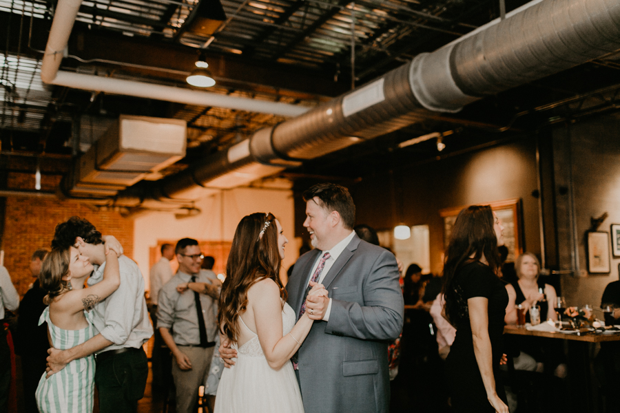 Stephanie And Kent Bailey Tampa Florida Romantic Wedding At Coppertail Brewery in Ybor Florist Fire BHLDN Mis En Place Ibex String Quartet Let Them Eat Cake -119.jpg