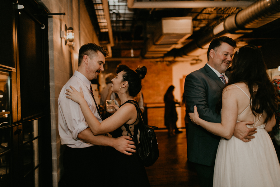 Stephanie And Kent Bailey Tampa Florida Romantic Wedding At Coppertail Brewery in Ybor Florist Fire BHLDN Mis En Place Ibex String Quartet Let Them Eat Cake -120.jpg