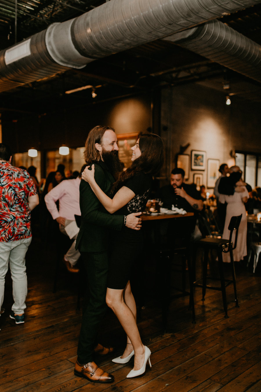 Stephanie And Kent Bailey Tampa Florida Romantic Wedding At Coppertail Brewery in Ybor Florist Fire BHLDN Mis En Place Ibex String Quartet Let Them Eat Cake -122.jpg