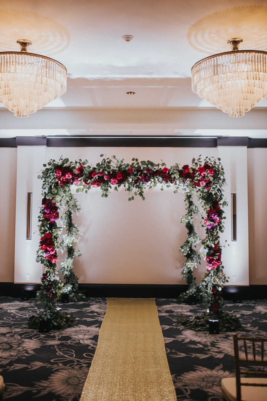 Loren and Alex Kuznetsov Gold and Burgundy wedding at Epicurean Tampa Royal Fall Wedding in Tampa Florida Inside Weddings MD Events Tampa-35.jpg