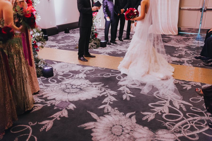 Loren and Alex Kuznetsov Gold and Burgundy wedding at Epicurean Tampa Royal Fall Wedding in Tampa Florida Inside Weddings MD Events Tampa-44.jpg