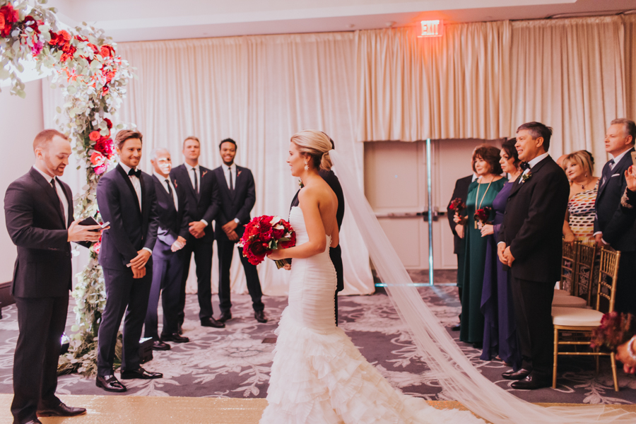 Loren and Alex Kuznetsov Gold and Burgundy wedding at Epicurean Tampa Royal Fall Wedding in Tampa Florida Inside Weddings MD Events Tampa-57.jpg