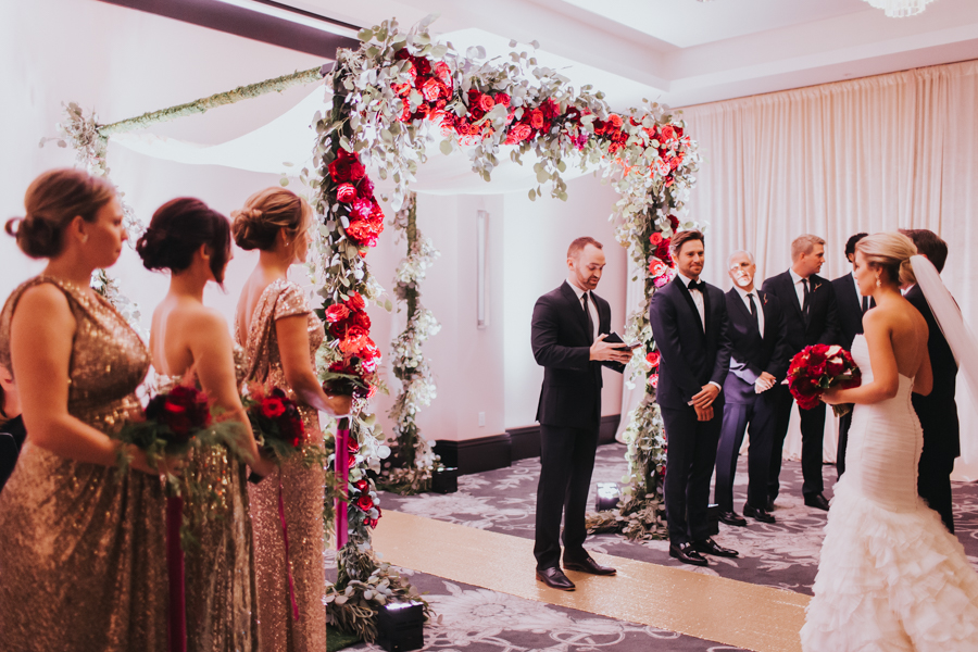 Loren and Alex Kuznetsov Gold and Burgundy wedding at Epicurean Tampa Royal Fall Wedding in Tampa Florida Inside Weddings MD Events Tampa-59.jpg
