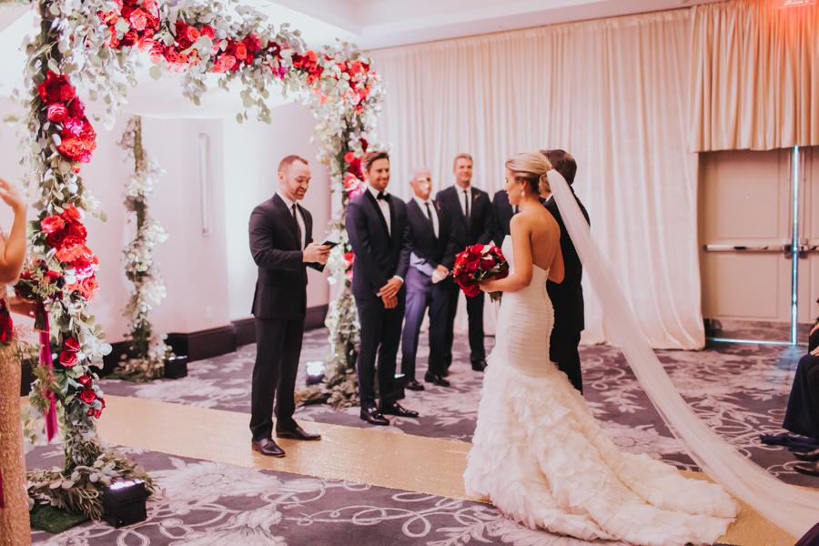 Loren and Alex Kuznetsov Gold and Burgundy wedding at Epicurean Tampa Royal Fall Wedding in Tampa Florida Inside Weddings MD Events Tampa-60.jpg