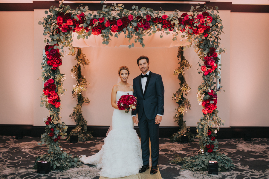 Loren and Alex Kuznetsov Gold and Burgundy wedding at Epicurean Tampa Royal Fall Wedding in Tampa Florida Inside Weddings MD Events Tampa-88.jpg