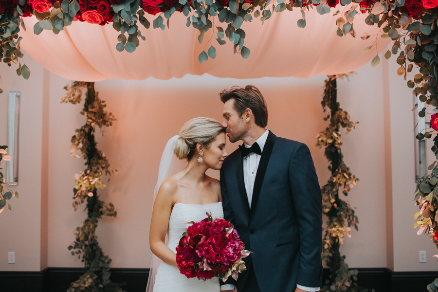 Loren and Alex Kuznetsov Gold and Burgundy wedding at Epicurean Tampa Royal Fall Wedding in Tampa Florida Inside Weddings MD Events Tampa-89.jpg