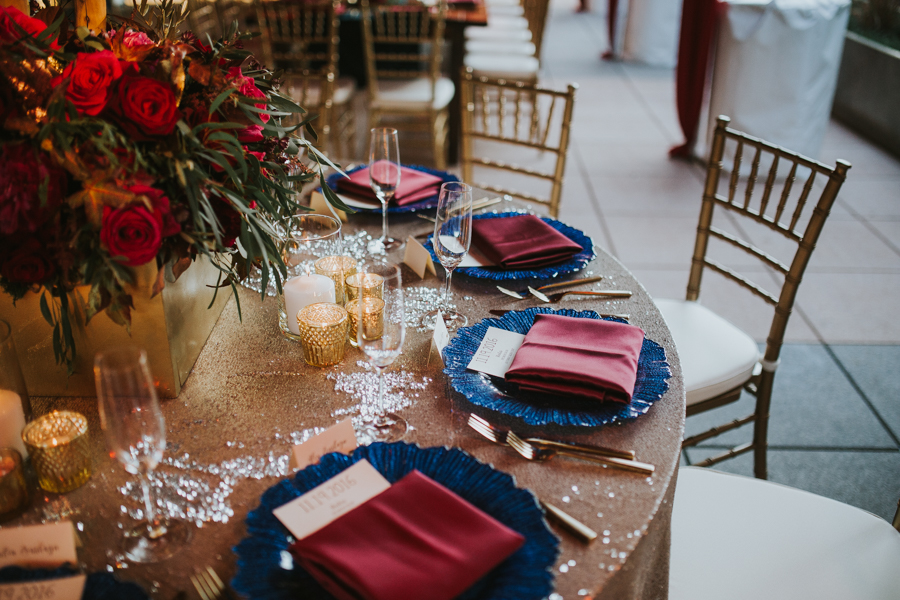 Loren and Alex Kuznetsov Gold and Burgundy wedding at Epicurean Tampa Royal Fall Wedding in Tampa Florida Inside Weddings MD Events Tampa-97.jpg