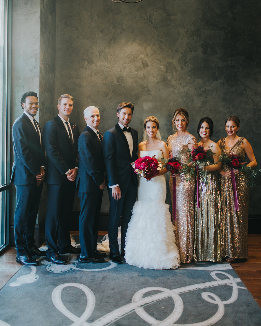 Loren and Alex Kuznetsov Gold and Burgundy wedding at Epicurean Tampa Royal Fall Wedding in Tampa Florida Inside Weddings MD Events Tampa-99.jpg