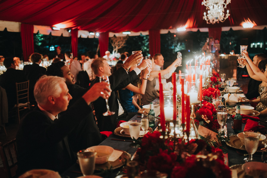 Loren and Alex Kuznetsov Gold and Burgundy wedding at Epicurean Tampa Royal Fall Wedding in Tampa Florida Inside Weddings MD Events Tampa-144.jpg