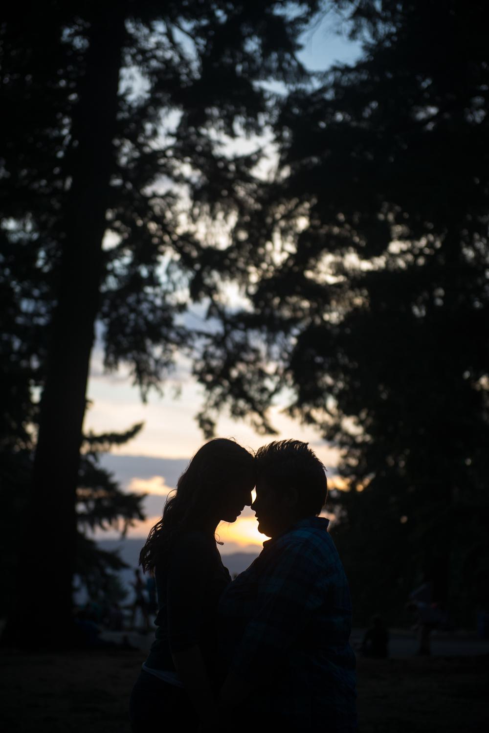 Mt. Tabor Park Engagement Session, Portland, Oregon