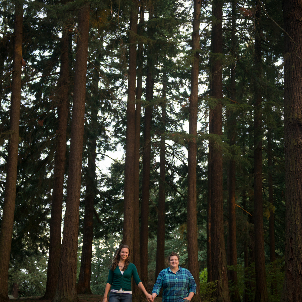 Mt. Tabor Park Engagement Session, Portland, OR