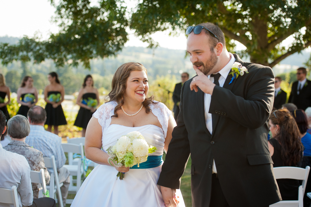 Long Farm Barn Wedding Ceremony, West Linn, OR