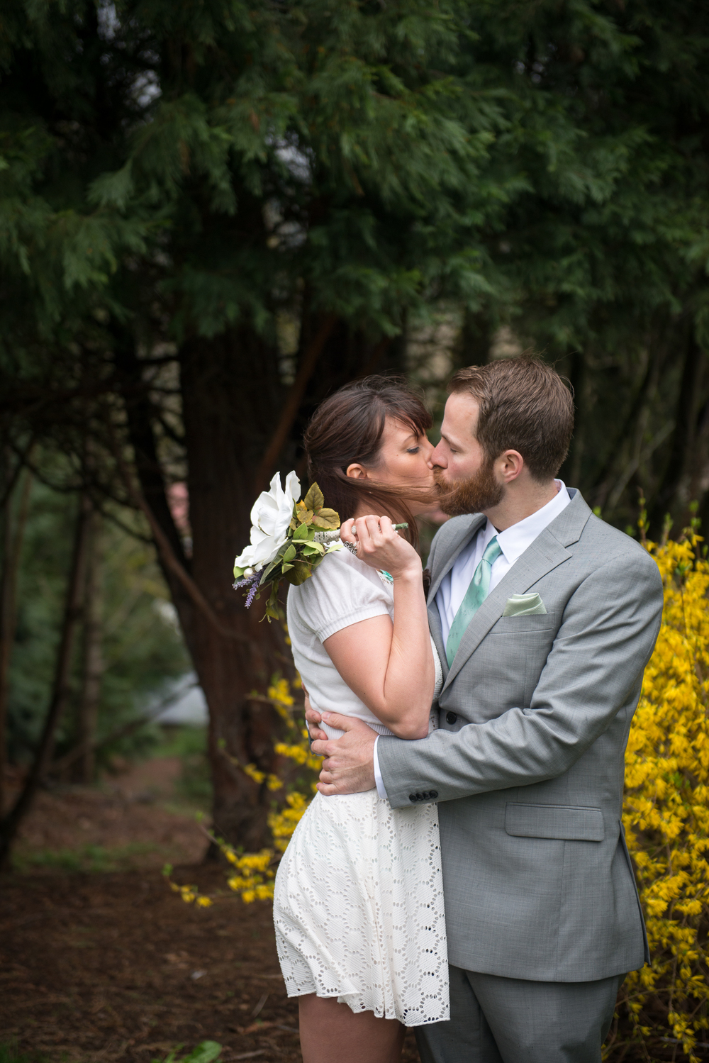Cathedral Park Wedding, Portland, OR
