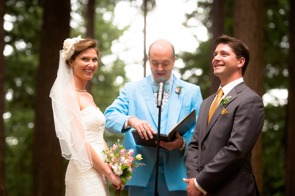 Mt. Tabor Wedding Ceremony, Portland, OR