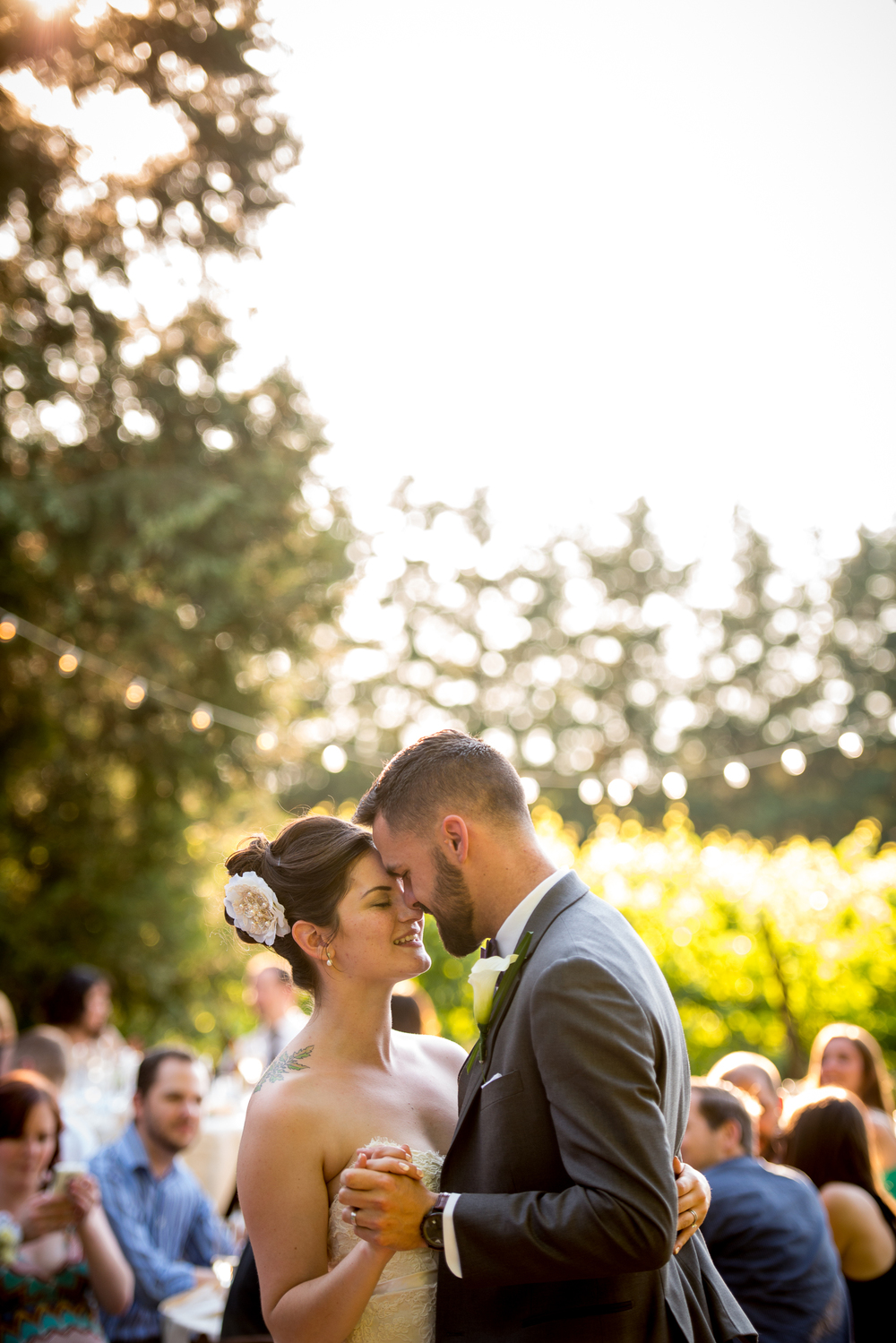 Ponzi Historic Estate Vineyard Wedding, Beaverton, OR