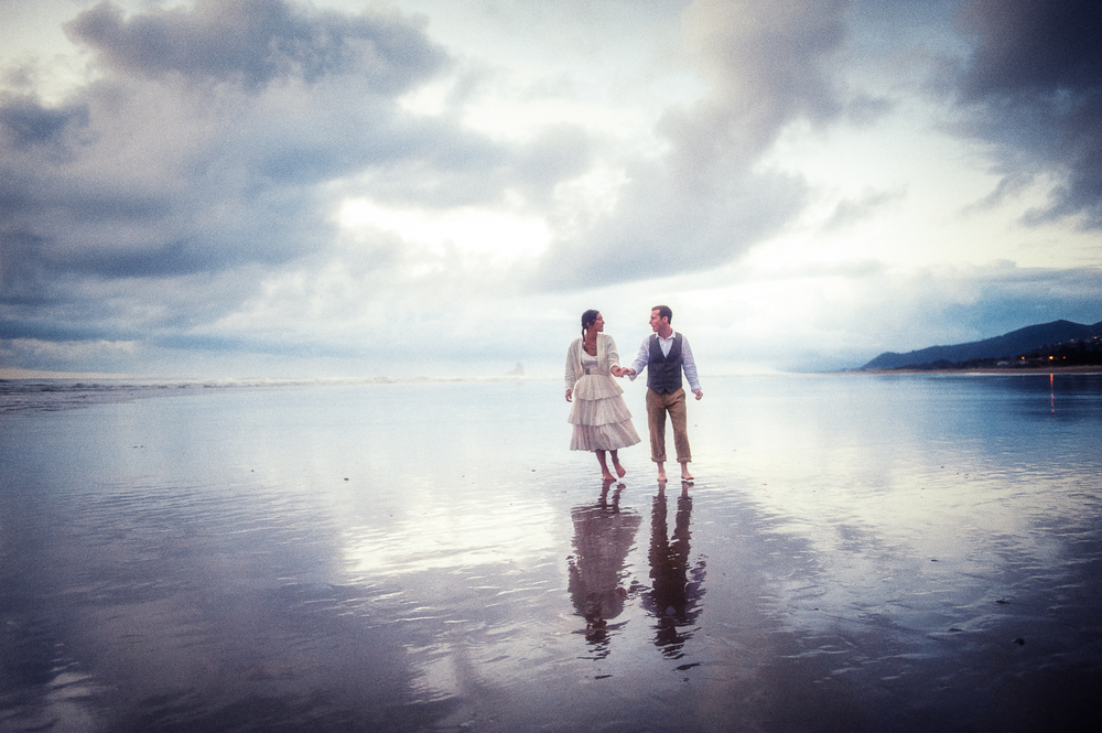 Camp Magruder Beach Wedding, Oregon Coast