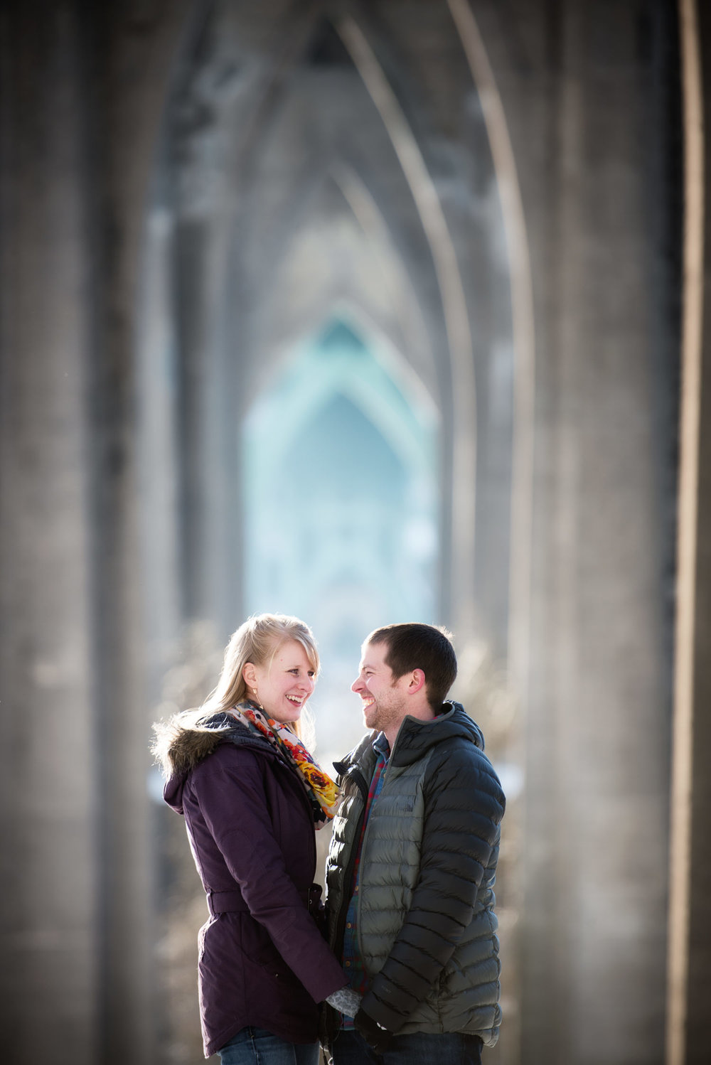 Cathedral Park Engagement Session, Portland, OR