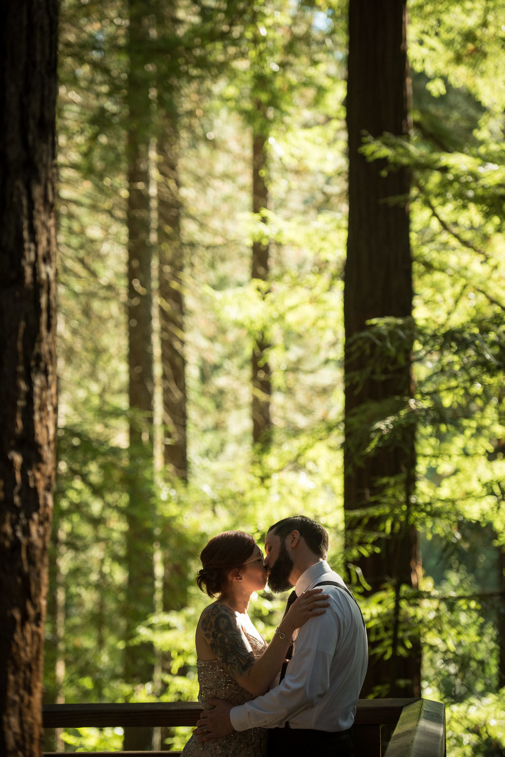 Hoyt Arboretum Elopement, Forest Park, Portland, OR