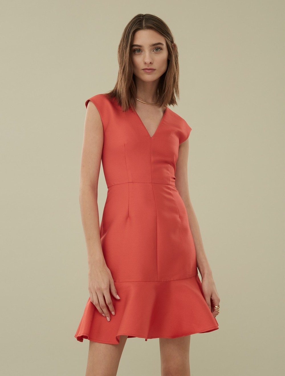 Carven Silk dress