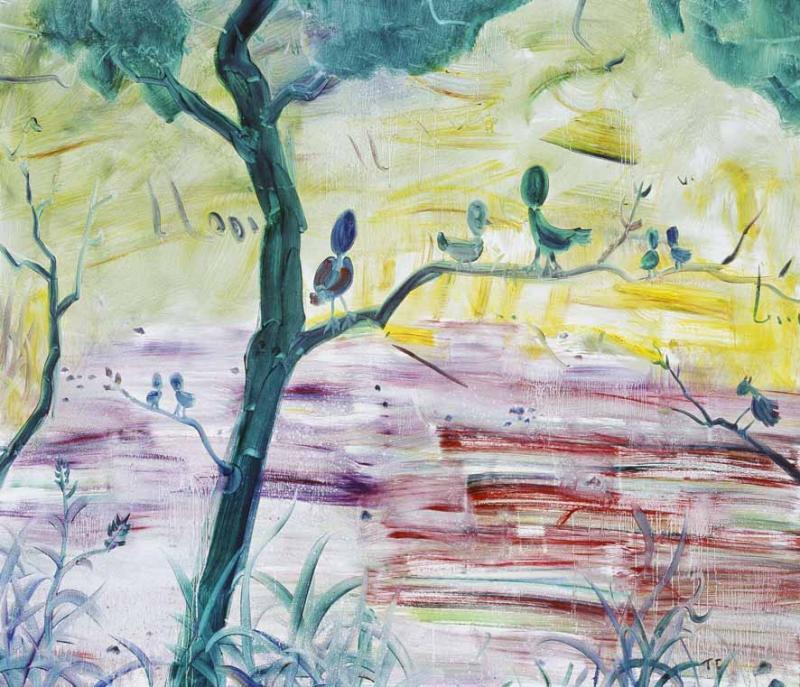 130x150cm 布面油畫