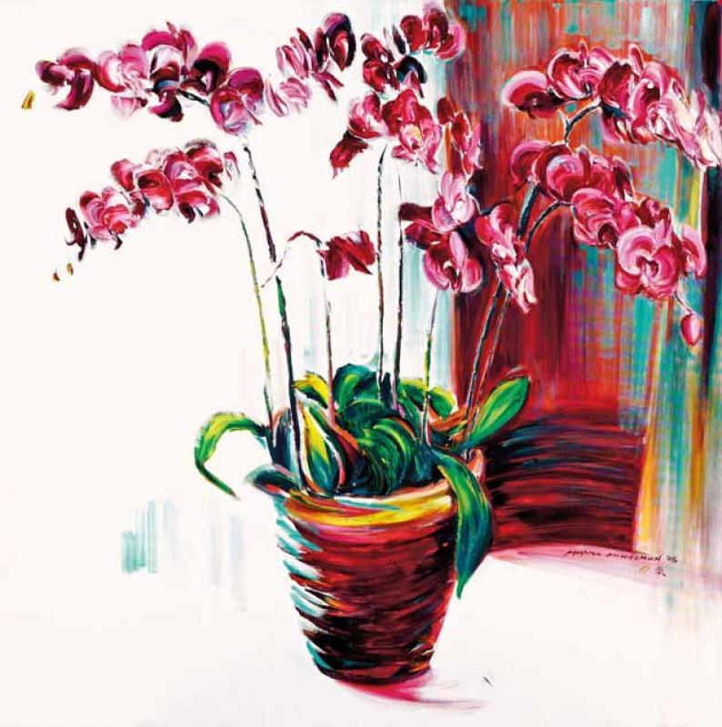 有蘭花的生日 Birthday with Orchids