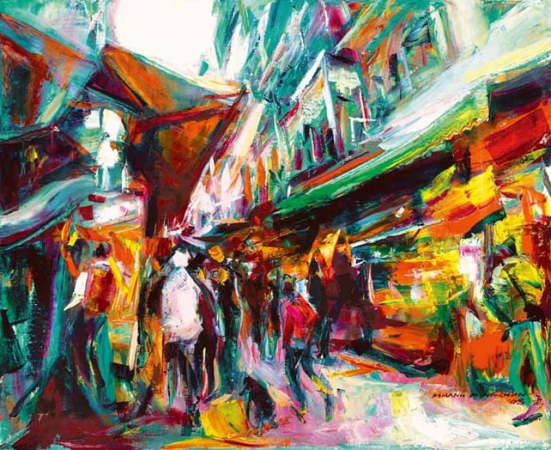 烏來街景 Street scene in Wulai
