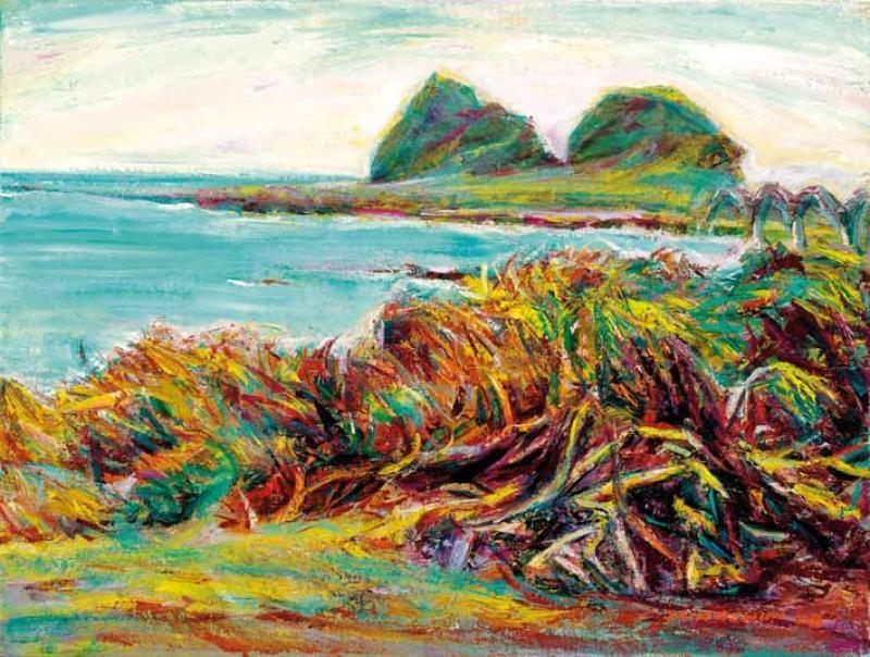 林投樹 Screw Pines by the Sea