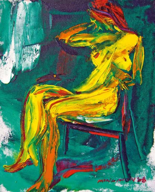 流動的人體 Flowing Nude