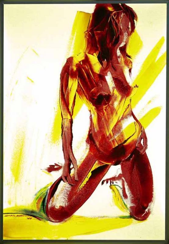 紅色裸女 Nude in Red