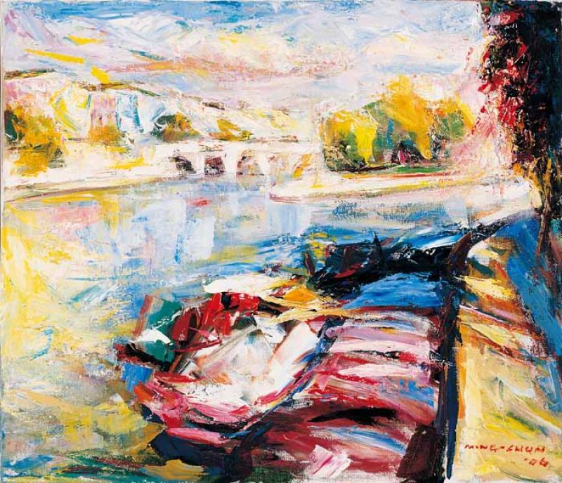賽納河畔 Seine Riverside