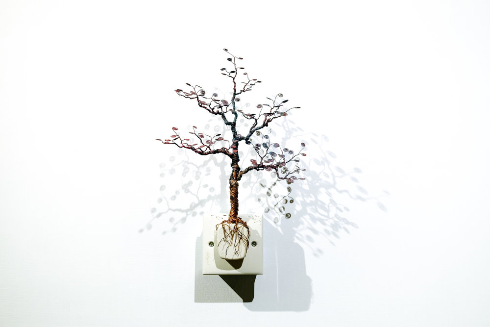 銅樹 之十九  Socket Tree XIX