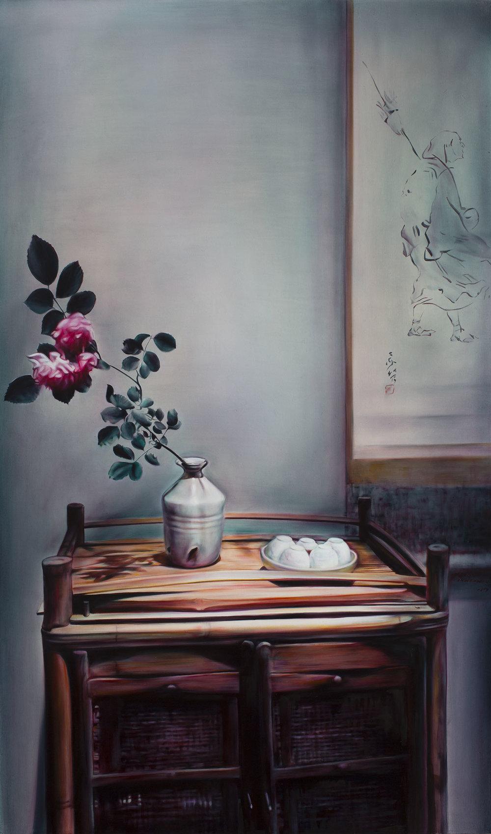 溫度3 Temperature III  145.5 x 97 cm 油彩畫布 Oil on Canvas 2017
