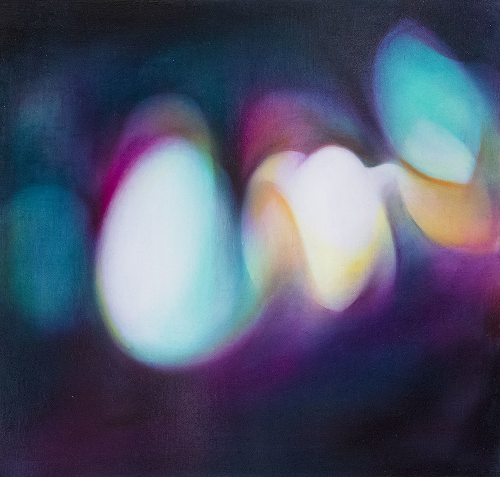 光抽象2號 Light Abstraction 2  39 x 41.5 cm 油彩畫布 Oil on Canvas  2017