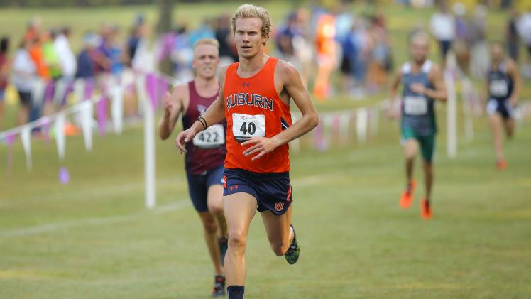 Erik looking strong at Auburn