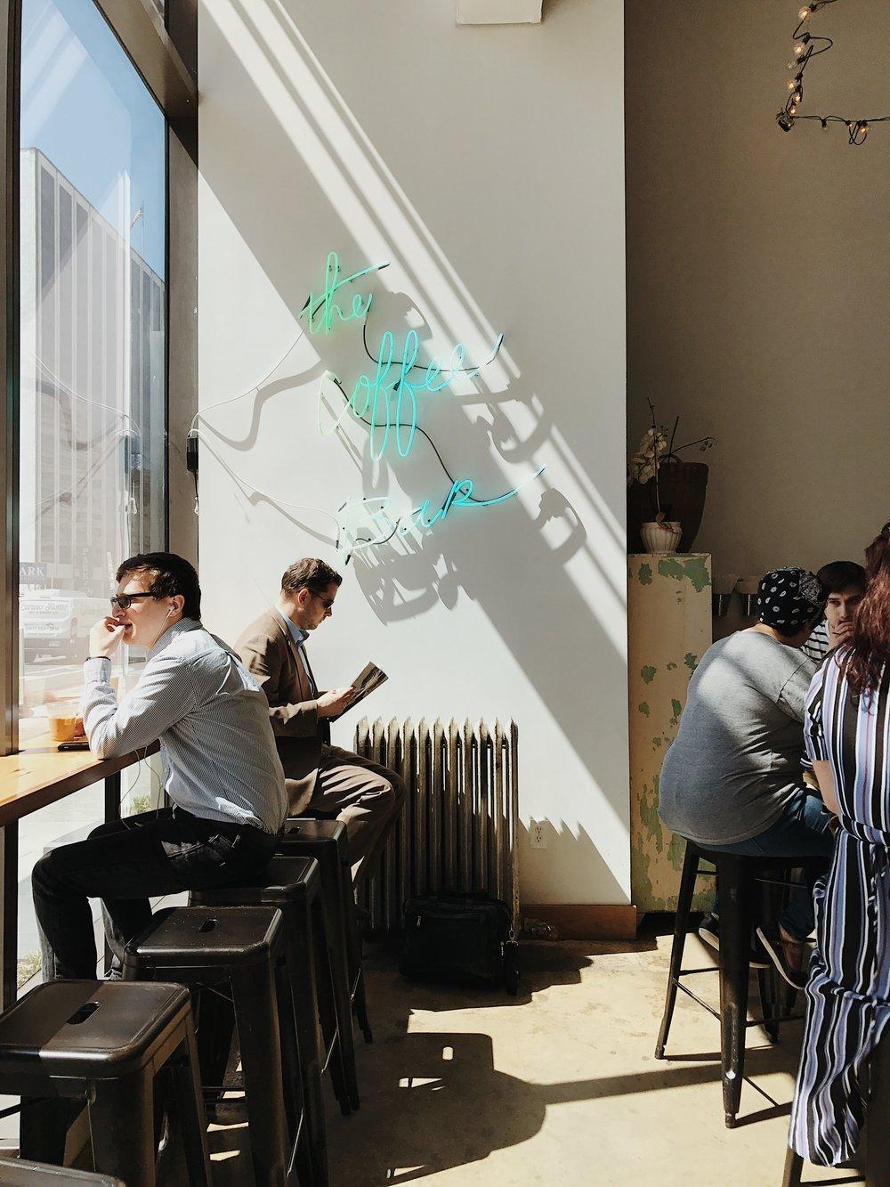 The Coffee Bar. Washington, D.C.