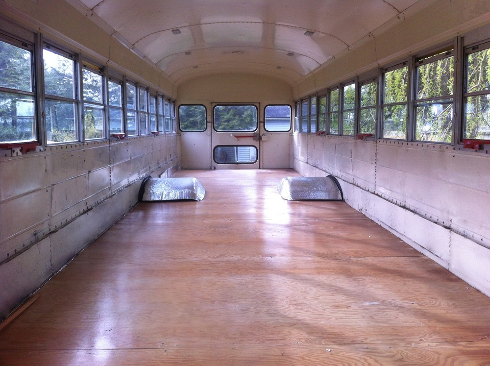 SiteFactory is an artist-run gallery in a converted school bus, bringing art exhibitions and performances to unconventional sites in Vancouver.