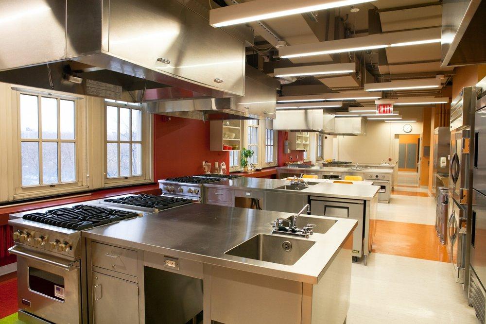 Laboratories Lehman College Food Teaching Laboratory Gertler Wente Architects Llp