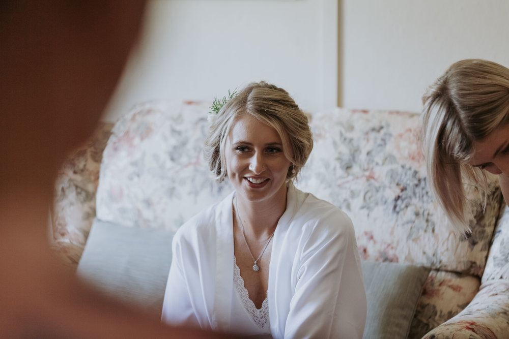 Bride getting ready photo. Natural, relaxed wedding photography Kiama