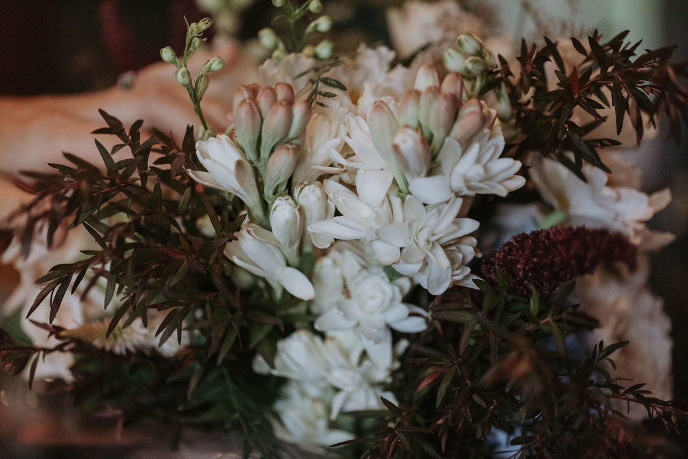 Bridal florals photo. Kiama wedding photography