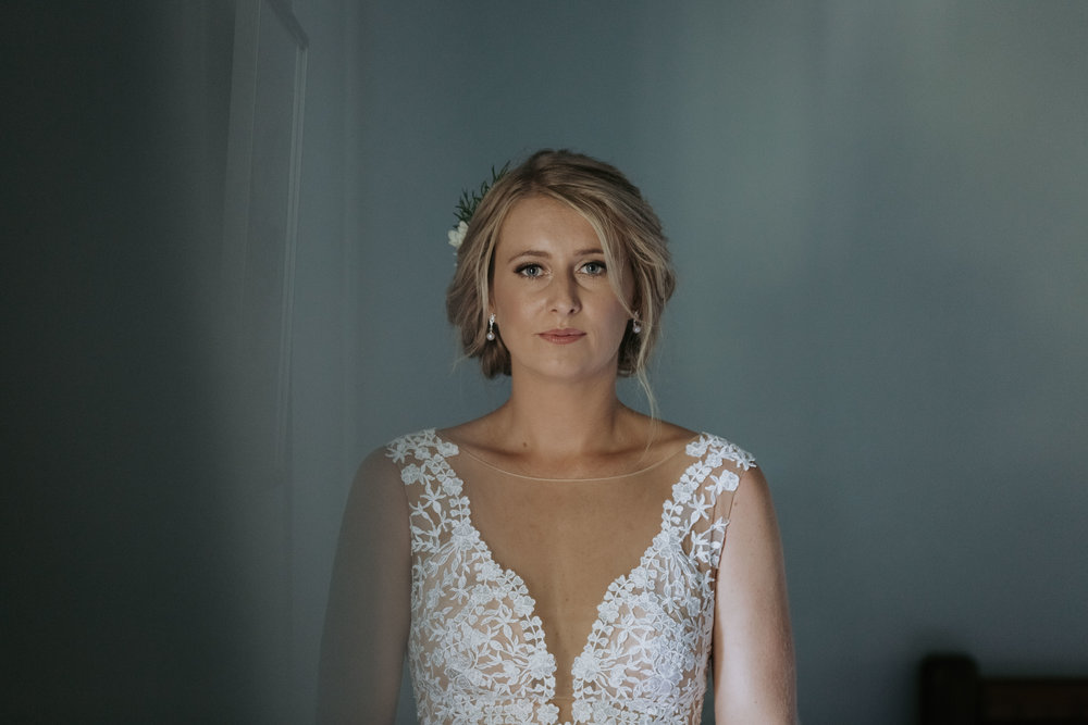 Beautiful bride photo. Natural, relaxed wedding photography Kiama