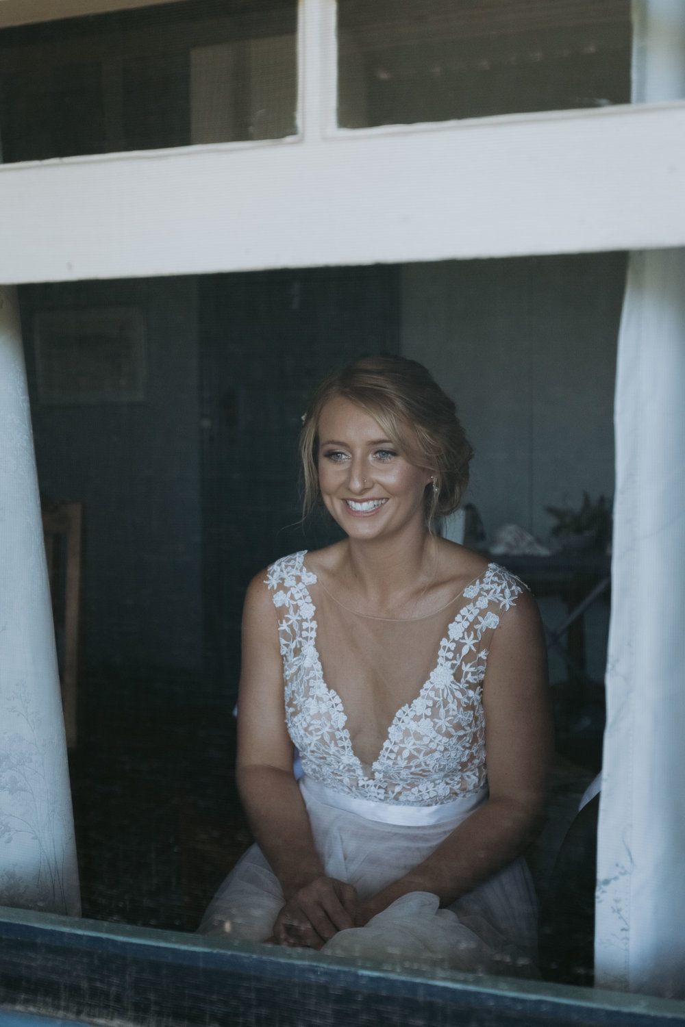 Bridal preparation photo. Natural, relaxed wedding photography Kiama