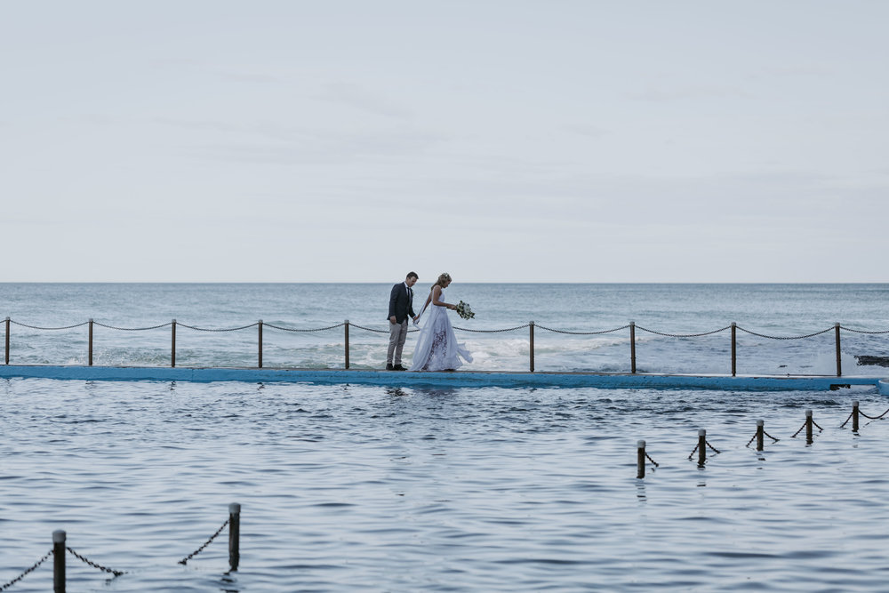Erin & Sean's Bilgola Beach Wedding, Sydney