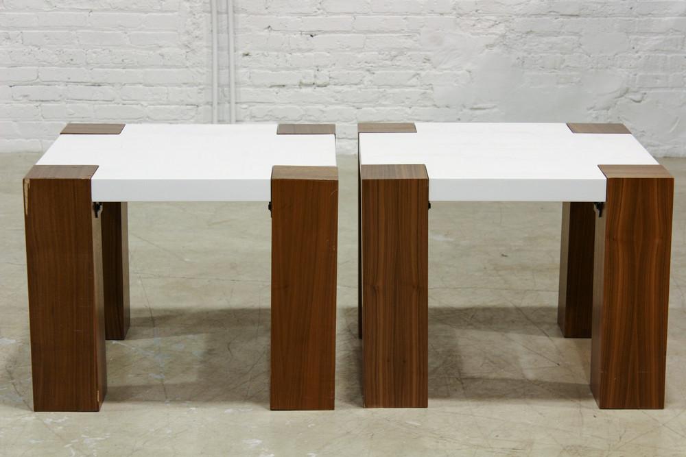 Wood Side Tables / $150 ea
