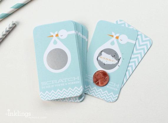Scratch off cards